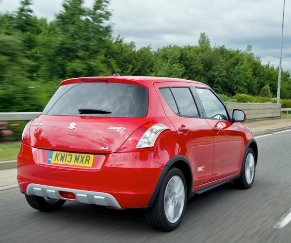 Car Review: Suzuki Swift five-door, 1.2 SZ4 4x4