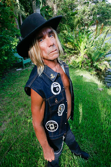 Iggy Pop for Sailor Jerry Clothing