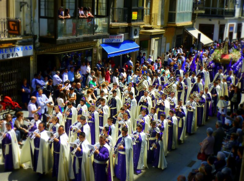 Band & procession, Alcala la Real