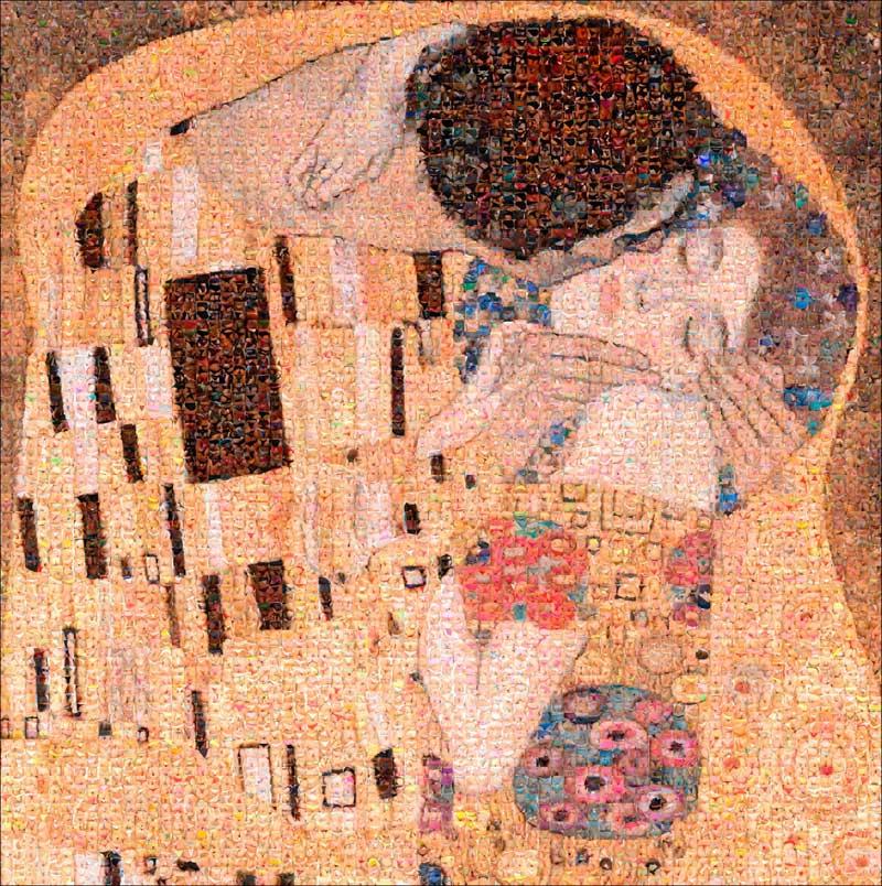 The Kiss by  Joel Moens