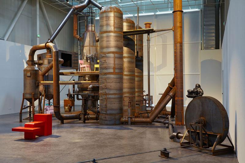 Atelier Van Lieshout - Blast furnace - Rotterdam Art