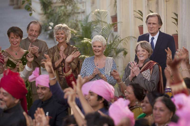 Win THE SECOND BEST EXOTIC MARIGOLD HOTEL Exclusive Merchandise!