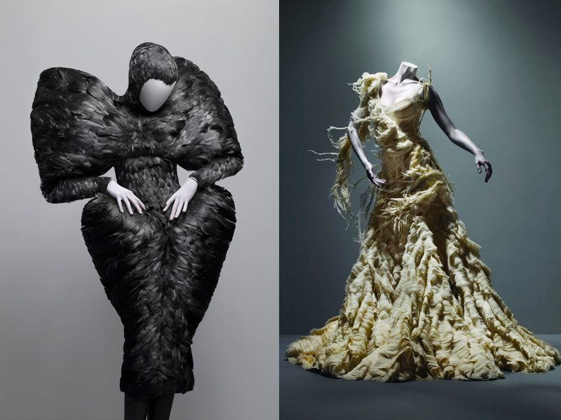 The Savage Side of a Fashion Legend  Alexander McQueen: Savage Beauty