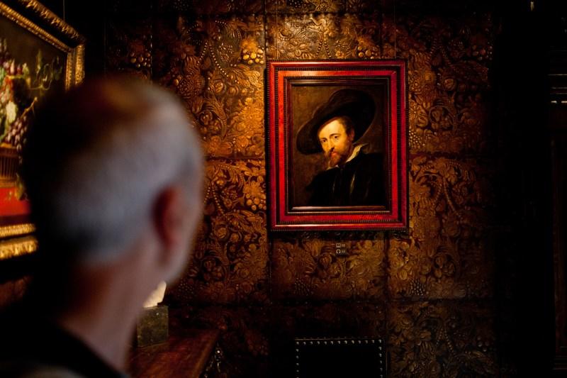 Zicht op het Zelfportret van Rubens_foto Jelle Vermeersch