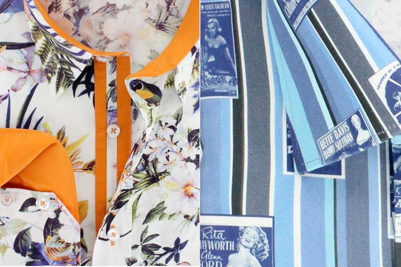 Claudio Lugli's SS15 Shirt Collection