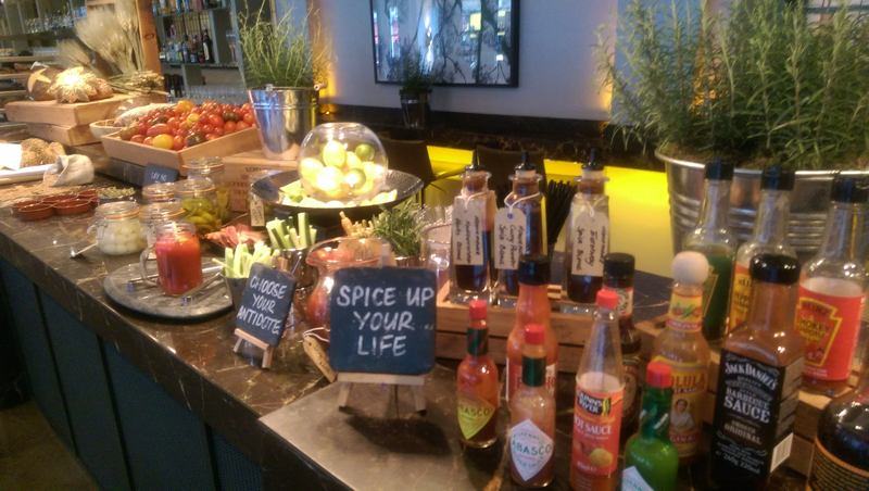 andaz liverpool st brunch