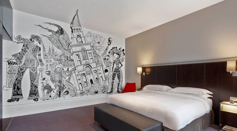 andaz liverpool sreet art rooms