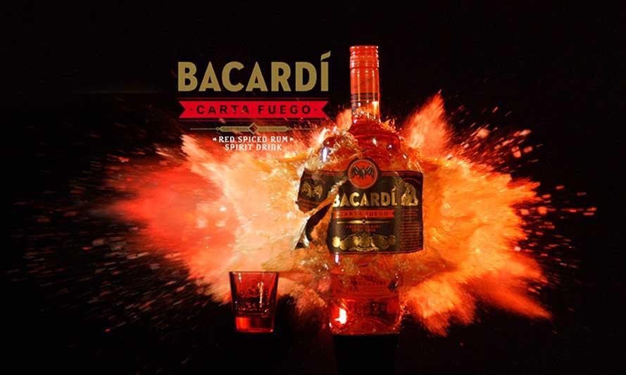Bacardo Carta Fuego