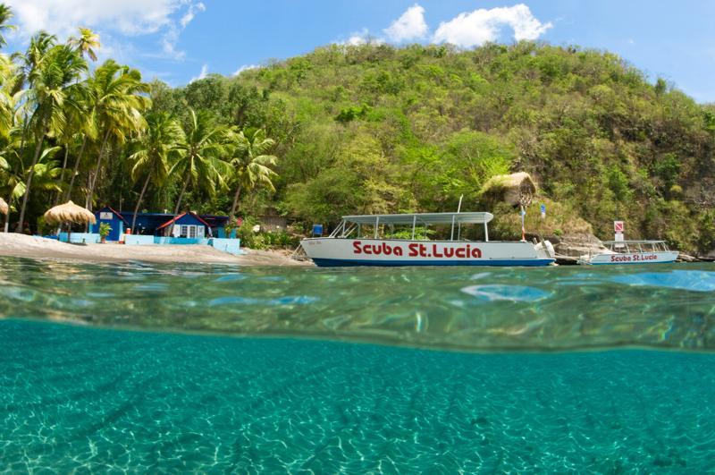 AnseChastanet- Saint Lucia