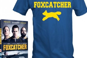 Win: Foxcatcher T-shirts and DVD's