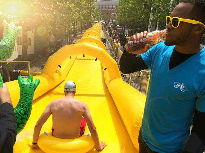 Liptons Ice Tea Waterslide