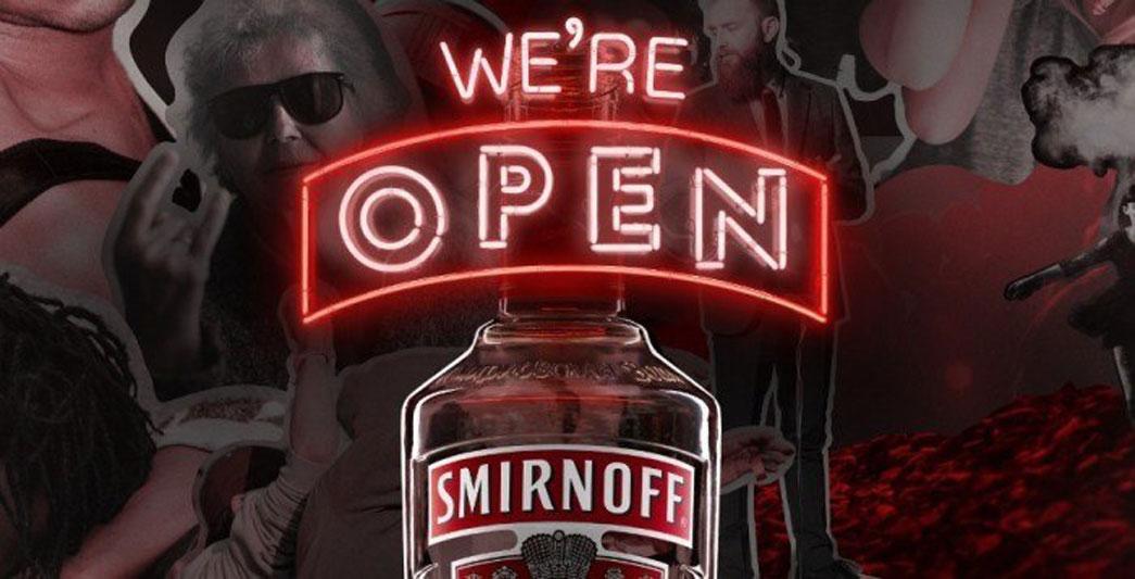 Smirnoff-were-open