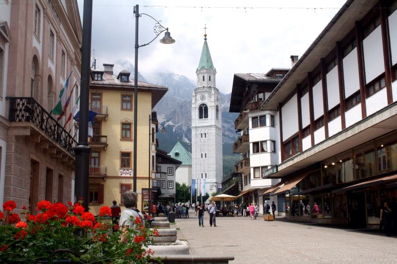 church Cortina d'Ampezzo