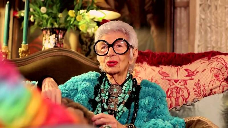 iris apfel the oldest fashionista alive today flush