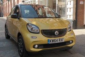 Car Review: Smart forfour 2015
