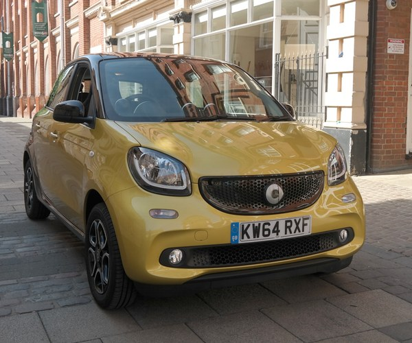 Smart Forfour Review 2015