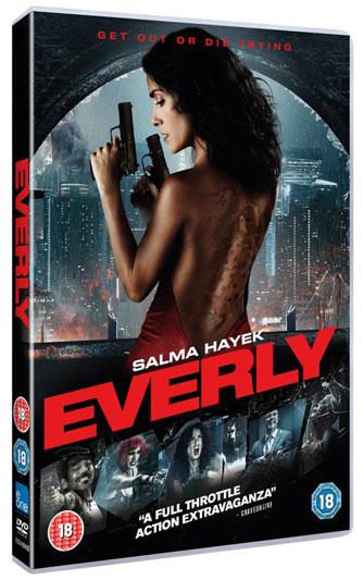 Everly Salma Hayek on DVD