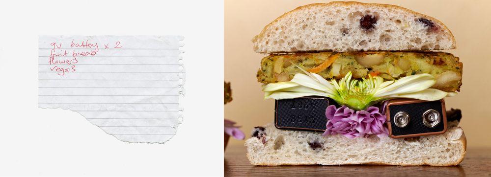 9 VOLT BURGER - Art meets Culinary Compendium