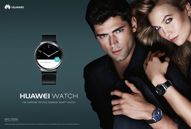 Launch of the Huawei Watch