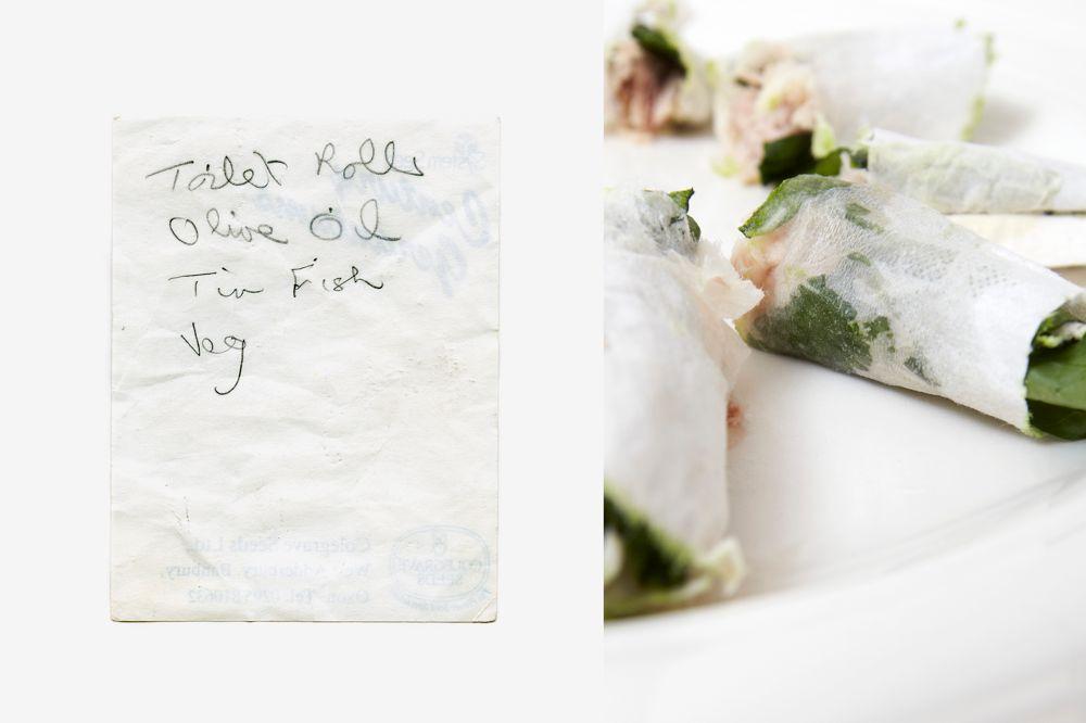 MAKI TOILET ROLLS - Art meets Culinary Compendium
