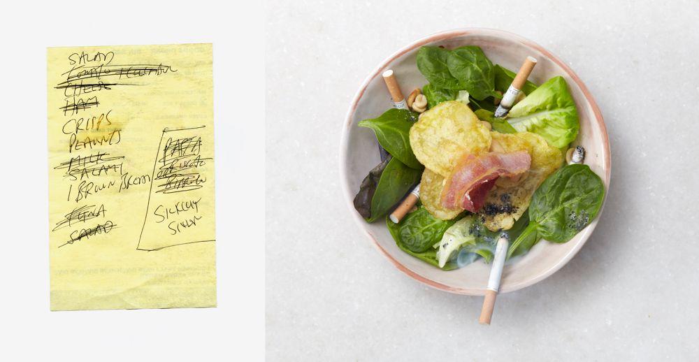 SILK CUT SALAD - Art meets Culinary Compendium