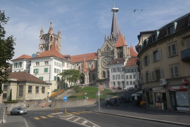 Weekend in Lausanne