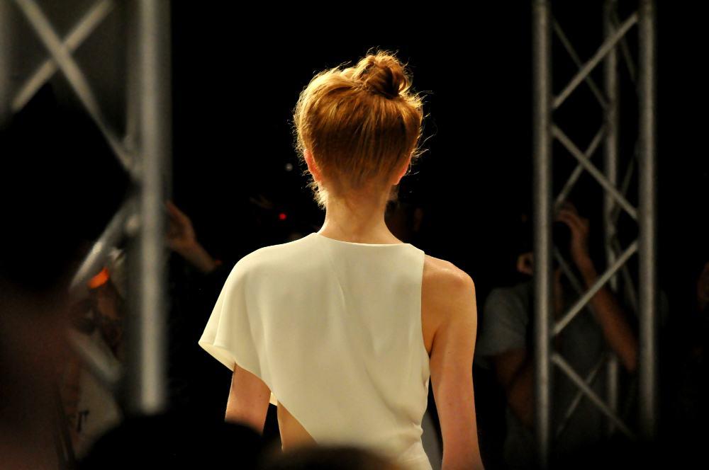 Judy Wu Backstage London Fashion Week 2015