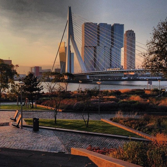 Rotterdam Weekend Getaway destination