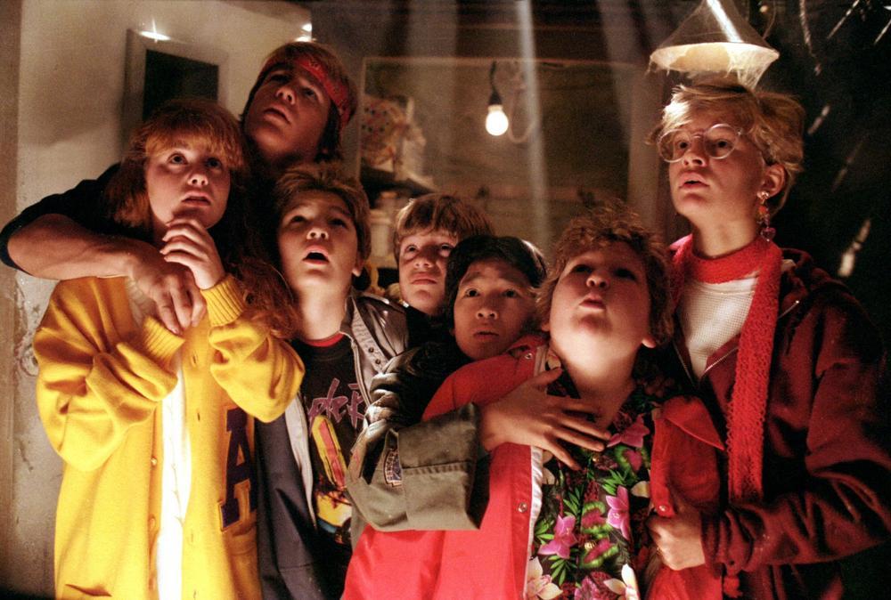 The Goonies on Blu Ray DVD