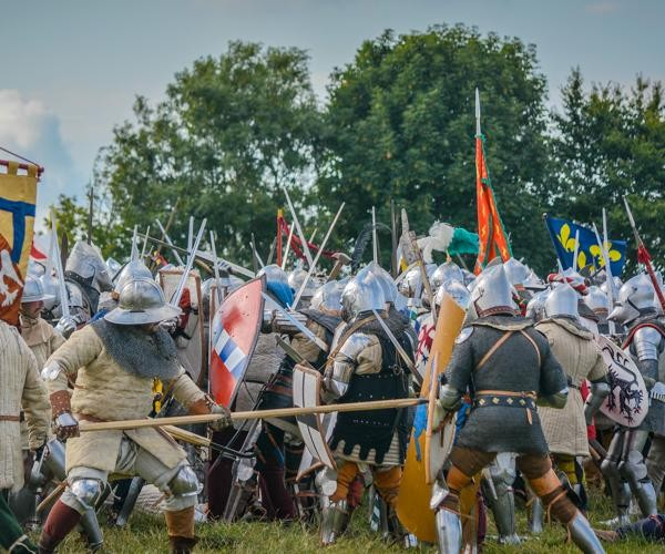 the battle of agincourt revisited Large scale medieval figures reviewed  drops of blood are indicative of being wounded in battle  large scale medieval figures reviewed/revisited.