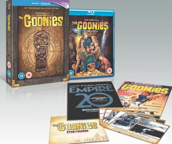 The Goonies on Blu Ray DVD
