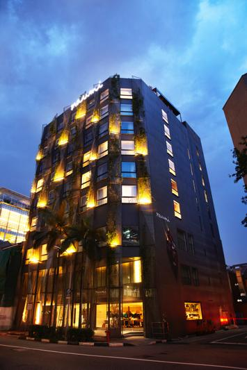 Naumi Hotel Facade