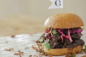 Food: Organic Coffee Beef Burger by John Quilter