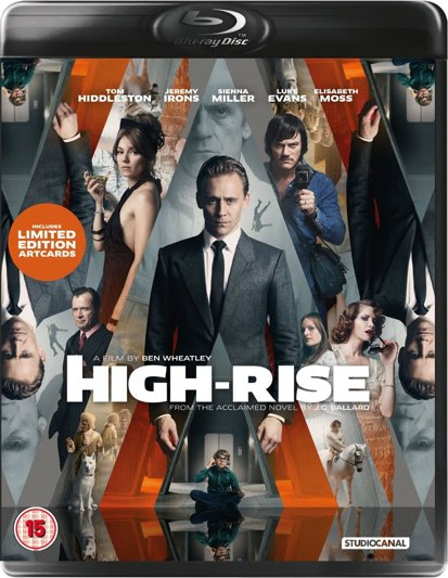 Blu-ray/DVD release of Ben Wheatley's 'High-Rise' (2015)