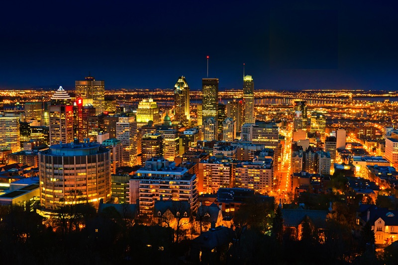 montreal-canada Downtown