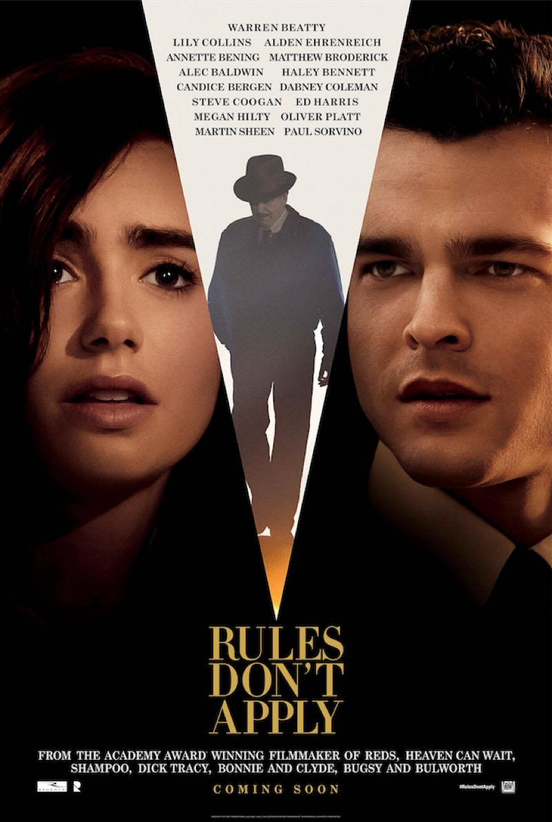 Movie Preview - Rules Don't Apply - Warren Beatty