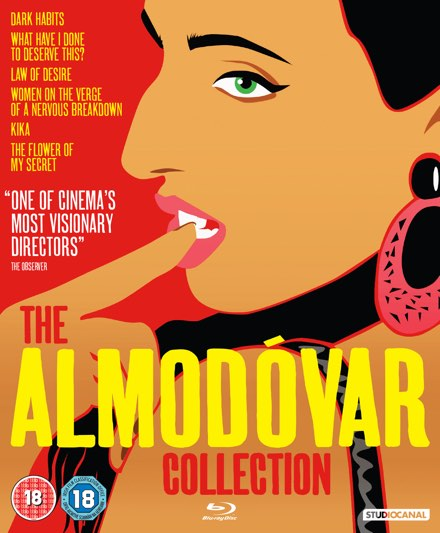 The Almodóvar Collection_blu-ray