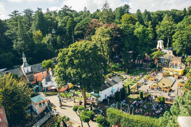 Travel: Festival No6, Wales portmeririon-village