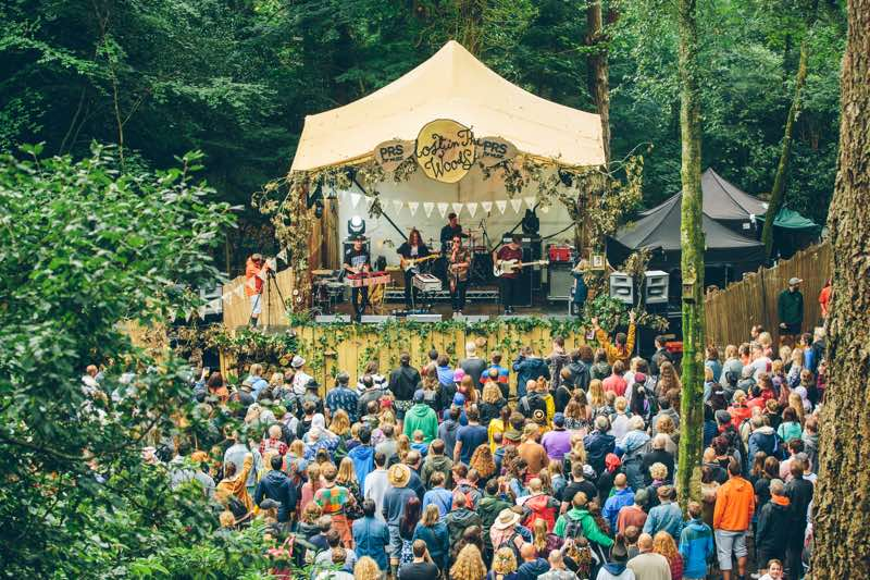 Travel: Festival No6, Wales portmeririon-village Lost In The Woods