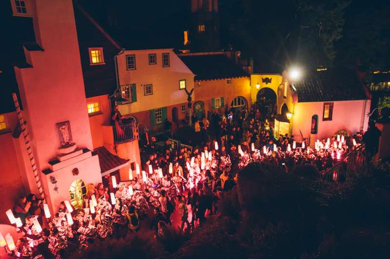 Travel: Festival No6, Wales portmeririon-village Lost In The Woods Kazimier Parade