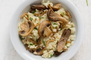 Recipe: Mealworm Risotto.