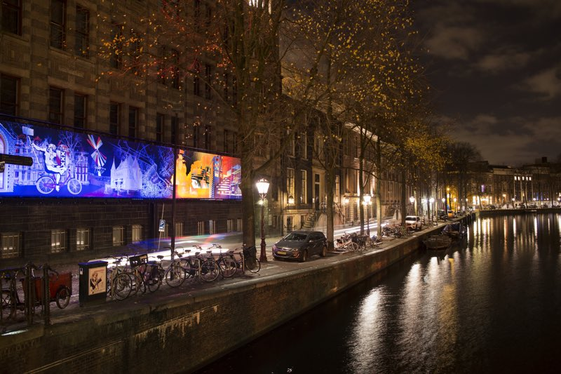 1 Amsterdam Light Festival 2016 - A window in Time - Motion Paintings - Copyright Janus van den Eijnden (18)