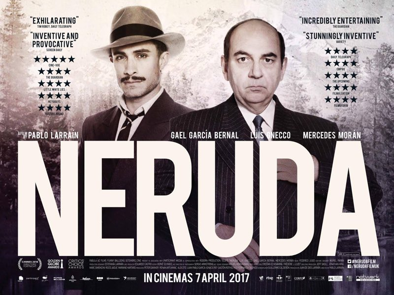 Film Review - Neruda 2017