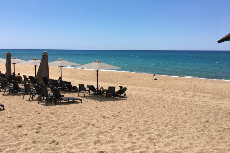 Dunes Beach Westin Costa Navarino