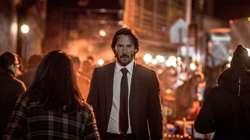 John Wick 2 on DVD