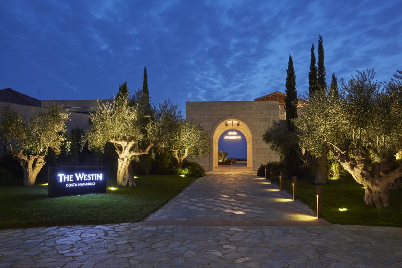 Westin Costa Navarino - entrance