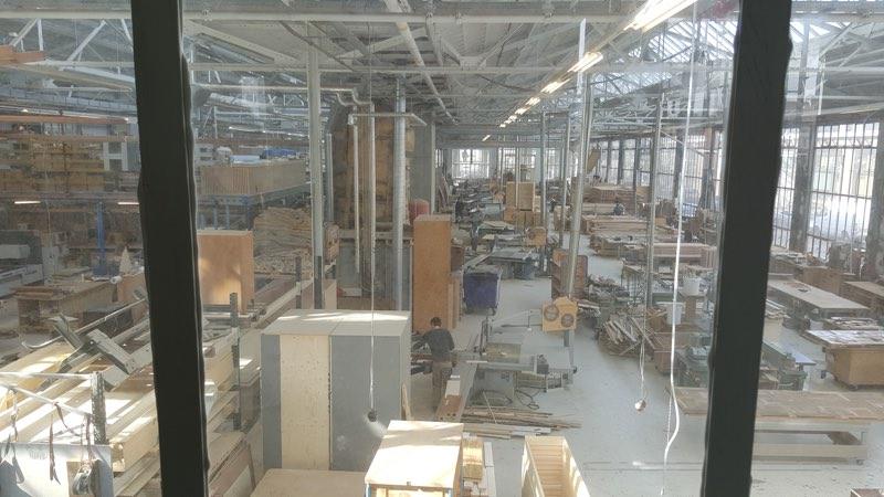 Piet Hein Eek factory floor