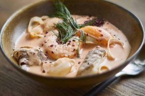 Recipe: Broth to Bowl: Mastering the Art of Great Soup from Six Simple Broths – Fish Chowder