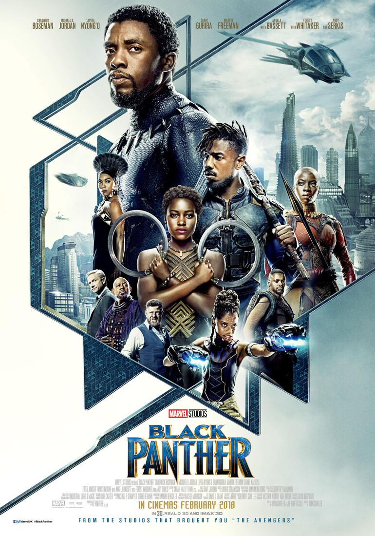 Film first look black panther flush the fashion for American cuisine movie online