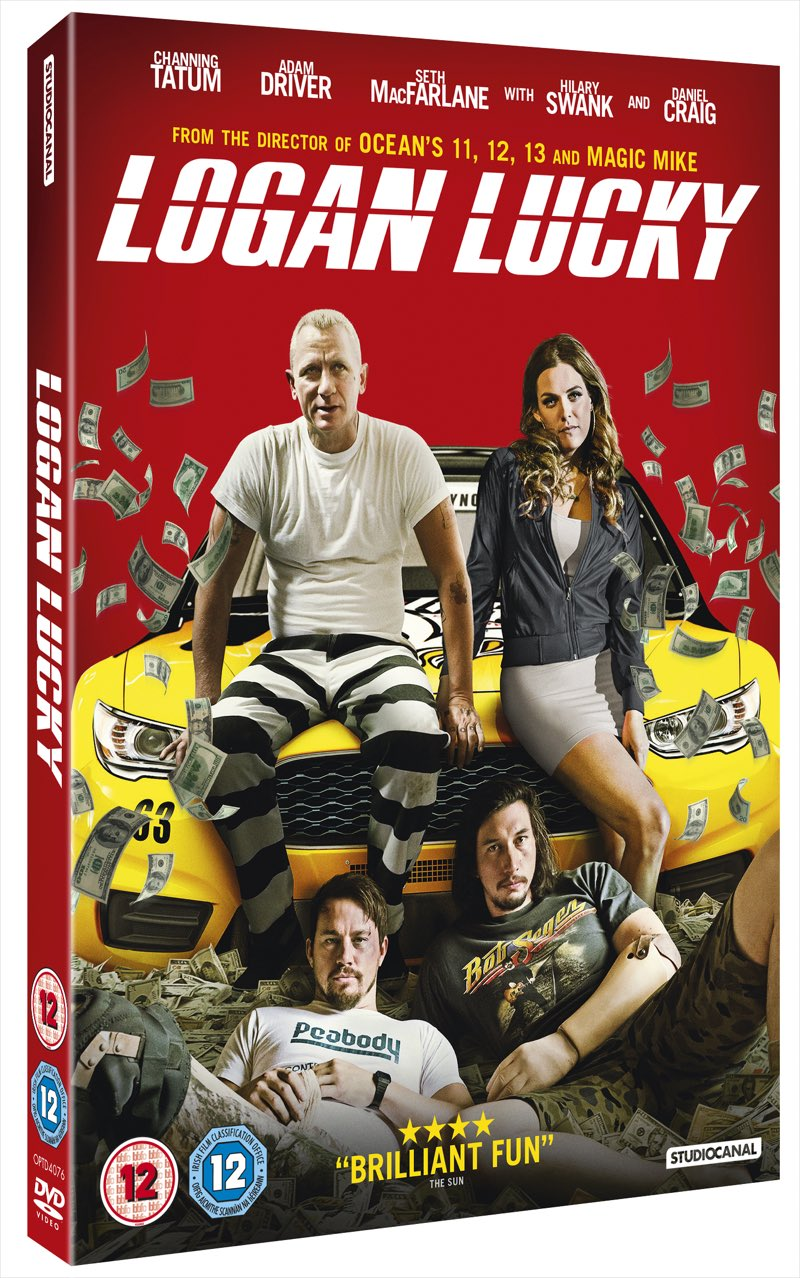 Logan Lucky on DVD UK
